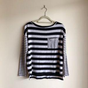 ✨ Lou & Grey Striped Frocket Long Sleeve Tee ✨